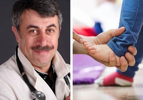 Доктор Комаровский о плоско-вальгусной стопе у детей
