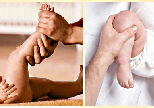 техника массажа для детей