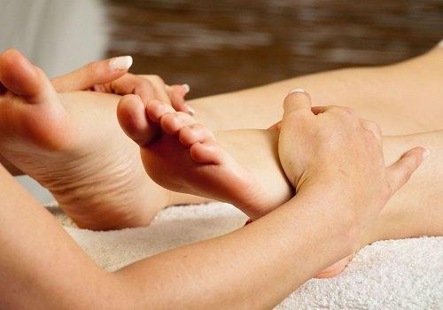 техника массажа ног