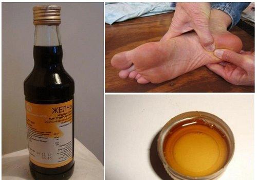 Медицинская желчь для ног
